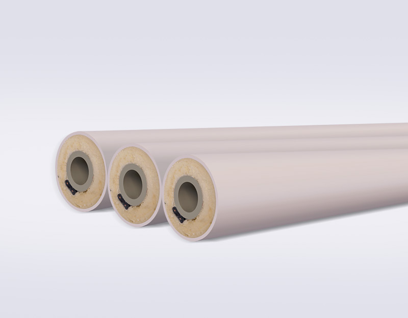 PP-R heat tracing anti-freeze pipe
