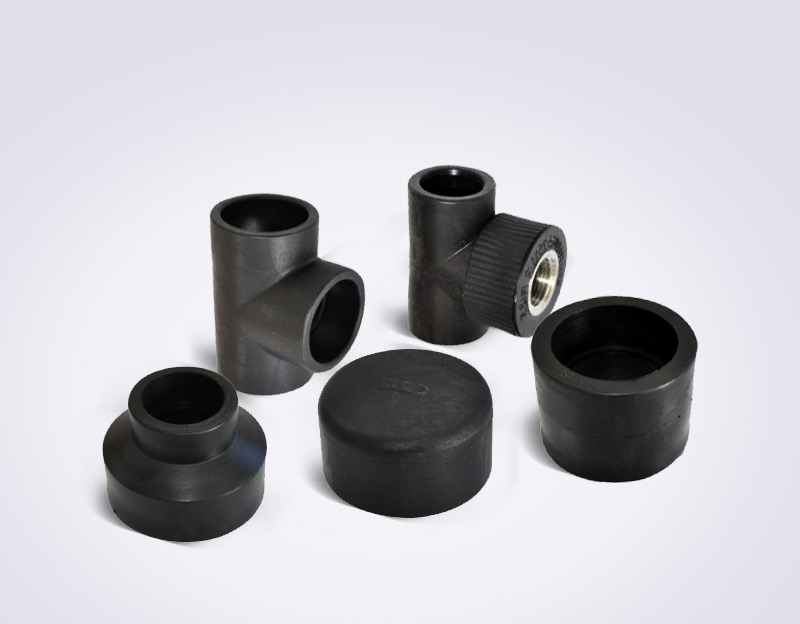 PE socket pipe fittings