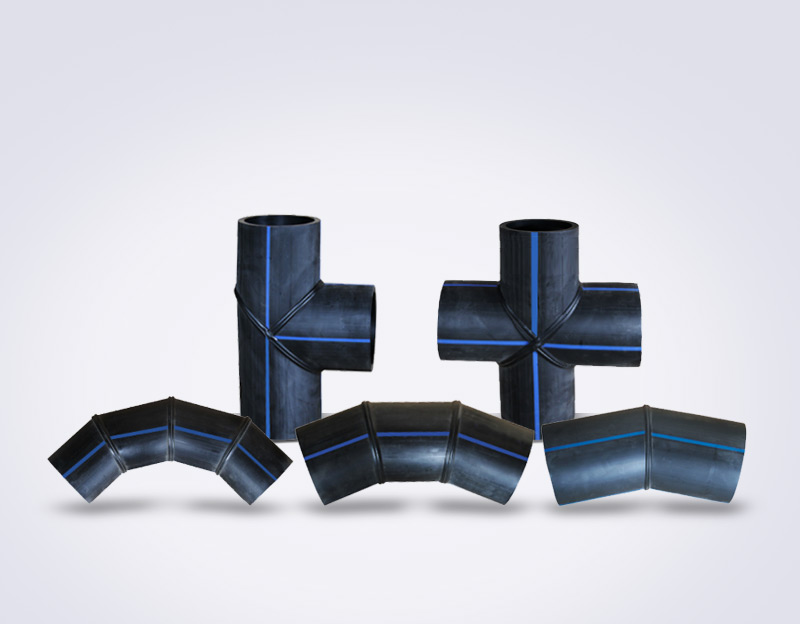 PE welded pipe fittings